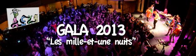 Image de couverture du billet présentant les photos du gala 2013 des étudiants kiné bisontins de l'AEKB sur le thème des 1001 nuits.